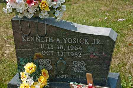 YOSICK JR, KENNETH A - Richland County, Ohio | KENNETH A YOSICK JR - Ohio Gravestone Photos