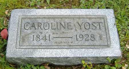 YOST, CAROLINE - Richland County, Ohio | CAROLINE YOST - Ohio Gravestone Photos