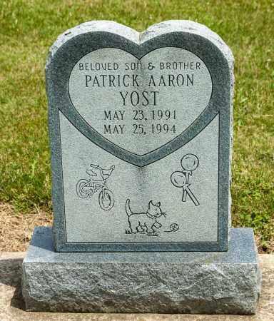 YOST, PATRICK AARON - Richland County, Ohio | PATRICK AARON YOST - Ohio Gravestone Photos