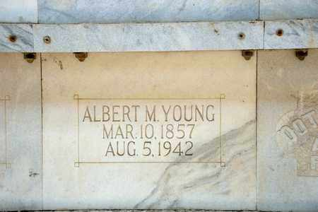 YOUNG, ALBERT M - Richland County, Ohio | ALBERT M YOUNG - Ohio Gravestone Photos