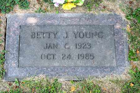 YOUNG, BETTY J - Richland County, Ohio | BETTY J YOUNG - Ohio Gravestone Photos