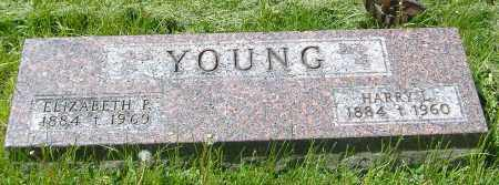 YOUNG, ELIZABETH P. - Richland County, Ohio | ELIZABETH P. YOUNG - Ohio Gravestone Photos