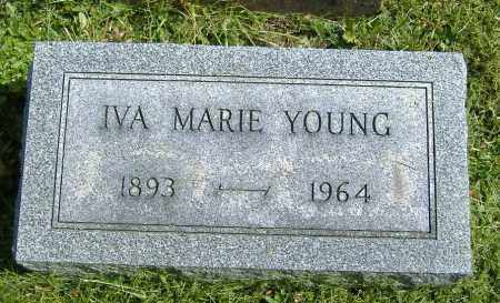 COCHRANE YOUNG, IVA MARIE - Richland County, Ohio | IVA MARIE COCHRANE YOUNG - Ohio Gravestone Photos