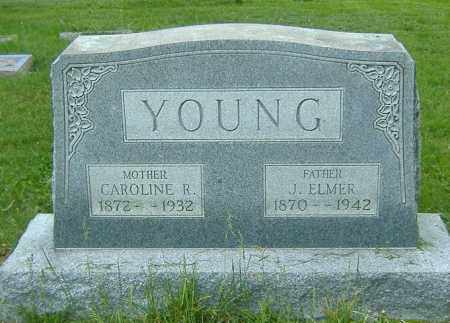 YOUNG, CAROLINE R. - Richland County, Ohio | CAROLINE R. YOUNG - Ohio Gravestone Photos