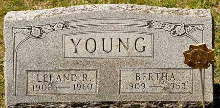 YOUNG, BERTHA - Richland County, Ohio | BERTHA YOUNG - Ohio Gravestone Photos
