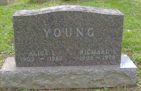 YOUNG, RICHARD F. - Richland County, Ohio | RICHARD F. YOUNG - Ohio Gravestone Photos