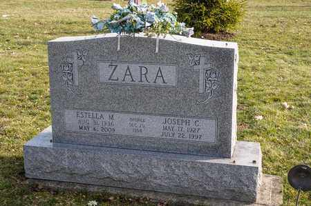 ZARA, ESTELLA M - Richland County, Ohio | ESTELLA M ZARA - Ohio Gravestone Photos