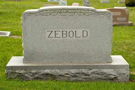 ZEBOLD, BARBARA JANE - Richland County, Ohio | BARBARA JANE ZEBOLD - Ohio Gravestone Photos
