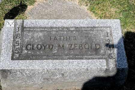 ZEBOLD, CLOYD M - Richland County, Ohio | CLOYD M ZEBOLD - Ohio Gravestone Photos