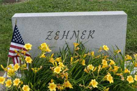 ZEHNER, JOHN PAUL - Richland County, Ohio | JOHN PAUL ZEHNER - Ohio Gravestone Photos