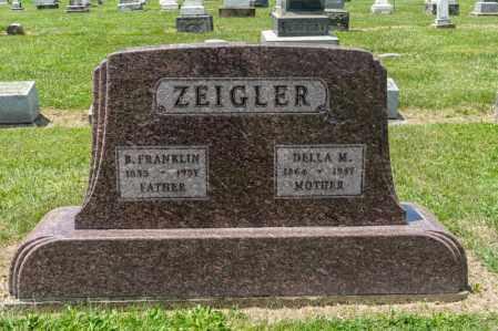 ZEIGLER, DELLA M - Richland County, Ohio | DELLA M ZEIGLER - Ohio Gravestone Photos
