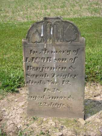 ZEIGLER, JACOB - Richland County, Ohio   JACOB ZEIGLER - Ohio Gravestone Photos