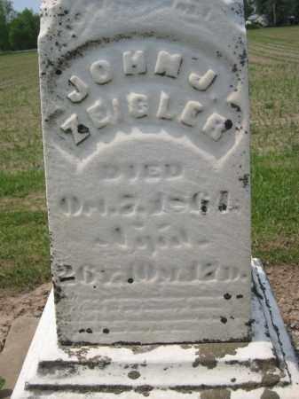 ZEIGLER, JOHN J - Richland County, Ohio | JOHN J ZEIGLER - Ohio Gravestone Photos