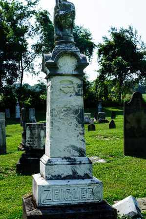 ZEIGLER, JOHN - Richland County, Ohio | JOHN ZEIGLER - Ohio Gravestone Photos