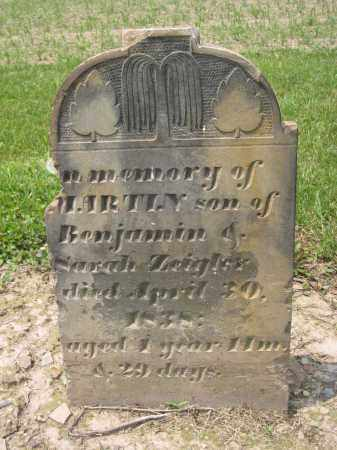 ZEIGLER, SARAH - Richland County, Ohio | SARAH ZEIGLER - Ohio Gravestone Photos