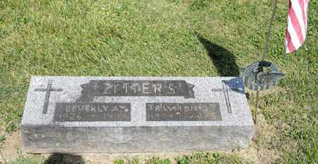 ZEITERS, RAYMOND D - Richland County, Ohio | RAYMOND D ZEITERS - Ohio Gravestone Photos