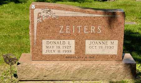 ZEITERS, DONALD L - Richland County, Ohio | DONALD L ZEITERS - Ohio Gravestone Photos