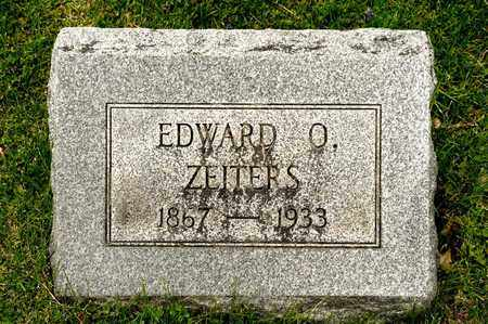ZEITERS, EDWARD O - Richland County, Ohio | EDWARD O ZEITERS - Ohio Gravestone Photos