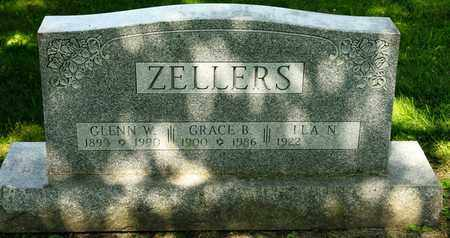 ZELLERS, GRACE B - Richland County, Ohio | GRACE B ZELLERS - Ohio Gravestone Photos