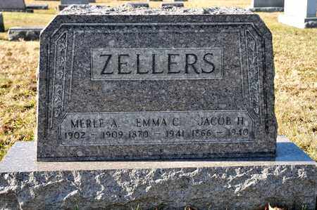 ZELLERS, JACOB H - Richland County, Ohio | JACOB H ZELLERS - Ohio Gravestone Photos