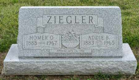 ZIEGLER, ADDIE B - Richland County, Ohio | ADDIE B ZIEGLER - Ohio Gravestone Photos