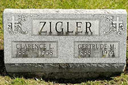 ZIGLER, GERTRUDE M - Richland County, Ohio | GERTRUDE M ZIGLER - Ohio Gravestone Photos