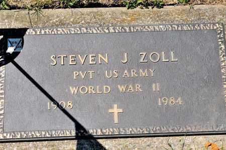 ZOLL, STEVEN J - Richland County, Ohio | STEVEN J ZOLL - Ohio Gravestone Photos