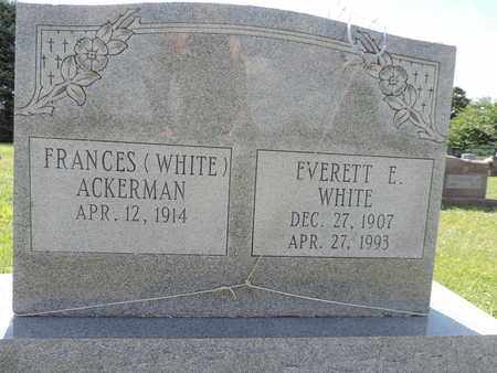 ACKERMAN, FRANCES - Ross County, Ohio | FRANCES ACKERMAN - Ohio Gravestone Photos