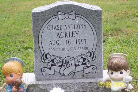 ACKLEY, CHASE ANTHONY - Ross County, Ohio | CHASE ANTHONY ACKLEY - Ohio Gravestone Photos