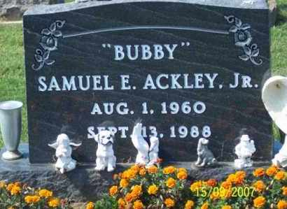 "ACKLEY, SAMUEL E. JR. ""BUBBY"" - Ross County, Ohio 