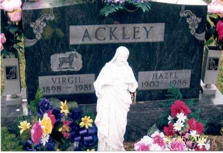 ACKLEY, HAZEL - Ross County, Ohio | HAZEL ACKLEY - Ohio Gravestone Photos