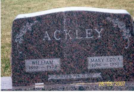ACKLEY, WILLIAM - Ross County, Ohio | WILLIAM ACKLEY - Ohio Gravestone Photos