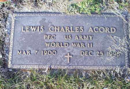 ACORD, LEWIS CHARLES - Ross County, Ohio | LEWIS CHARLES ACORD - Ohio Gravestone Photos