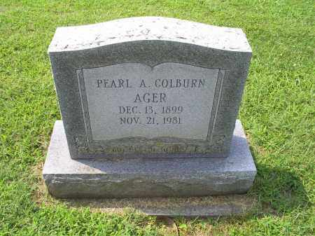 AGER, PEARL A. - Ross County, Ohio | PEARL A. AGER - Ohio Gravestone Photos