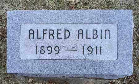 ALBIN, ALFRED - Ross County, Ohio | ALFRED ALBIN - Ohio Gravestone Photos
