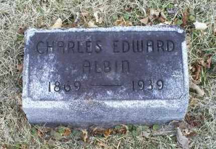 ALBIN, CHARLES EDWARD - Ross County, Ohio | CHARLES EDWARD ALBIN - Ohio Gravestone Photos