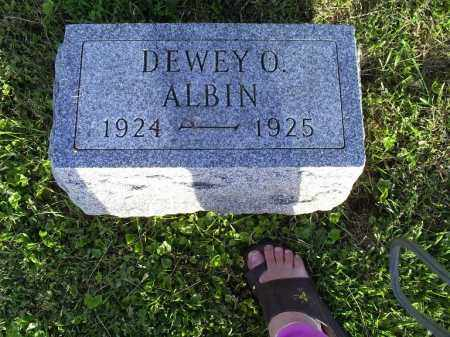 ALBIN, DEWEY O. - Ross County, Ohio | DEWEY O. ALBIN - Ohio Gravestone Photos