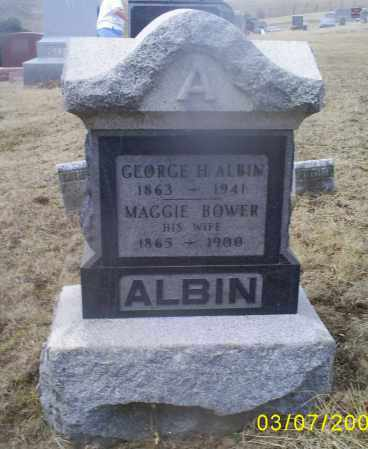 BOWER ALBIN, MAGGIE - Ross County, Ohio | MAGGIE BOWER ALBIN - Ohio Gravestone Photos