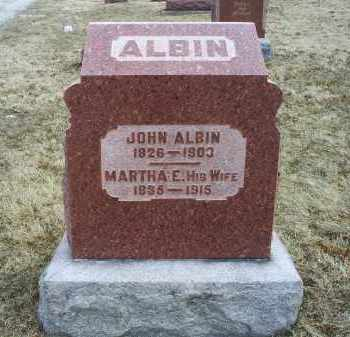 ALBIN, JOHN - Ross County, Ohio | JOHN ALBIN - Ohio Gravestone Photos