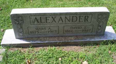 ALEXANDER, DAVID S. - Ross County, Ohio | DAVID S. ALEXANDER - Ohio Gravestone Photos