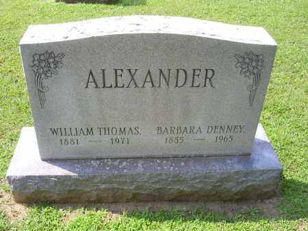 ALEXANDER, BARBARA - Ross County, Ohio | BARBARA ALEXANDER - Ohio Gravestone Photos