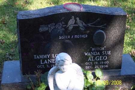 "ALGEO, WANDA SUE ""BUTCH"" - Ross County, Ohio 