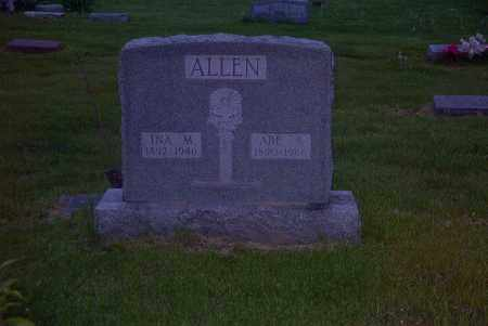 ALLEN, ABE S. - Ross County, Ohio | ABE S. ALLEN - Ohio Gravestone Photos