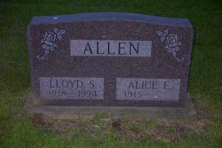 ALLEN, LLOYD S. - Ross County, Ohio | LLOYD S. ALLEN - Ohio Gravestone Photos