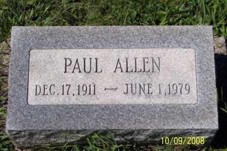 ALLEN, PAUL - Ross County, Ohio | PAUL ALLEN - Ohio Gravestone Photos