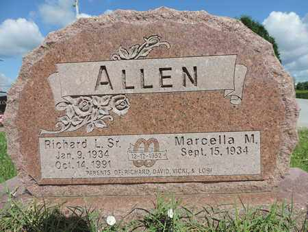 ALLEN, MARCELLA M. - Ross County, Ohio | MARCELLA M. ALLEN - Ohio Gravestone Photos