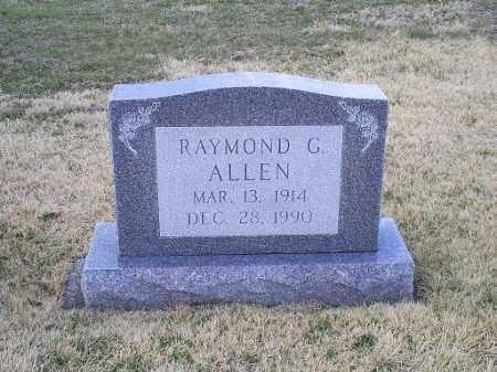ALLEN, RAYMOND G. - Ross County, Ohio | RAYMOND G. ALLEN - Ohio Gravestone Photos