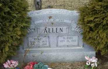 ALLEN, ROY C. - Ross County, Ohio | ROY C. ALLEN - Ohio Gravestone Photos