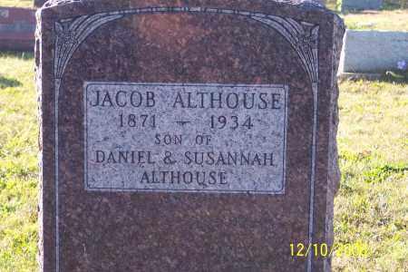 ALTHOUSE, JACOB - Ross County, Ohio | JACOB ALTHOUSE - Ohio Gravestone Photos