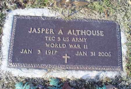 ALTHOUSE, JASPER A. - Ross County, Ohio | JASPER A. ALTHOUSE - Ohio Gravestone Photos